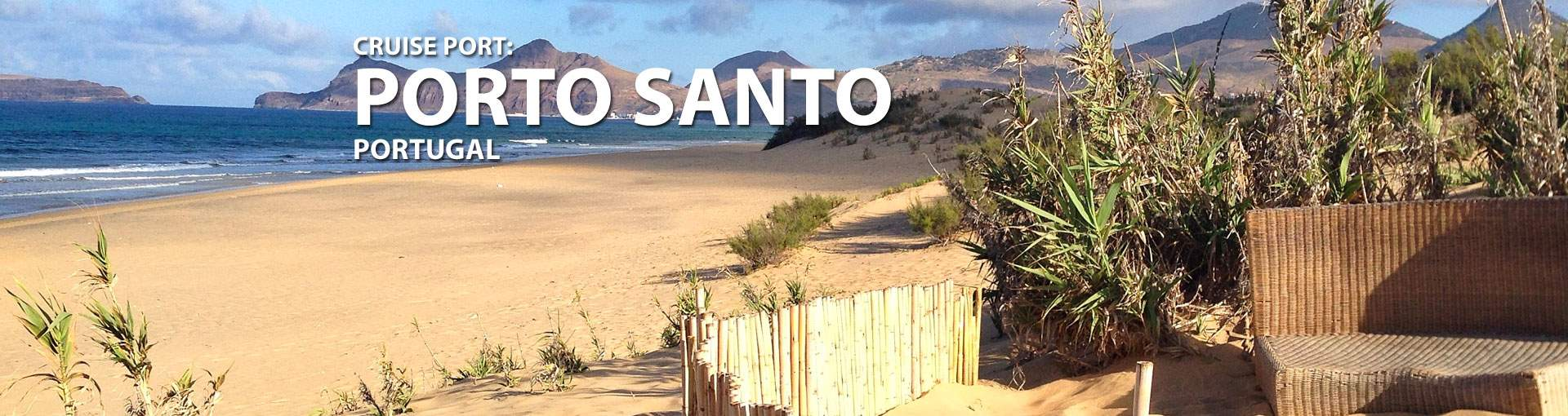 Cruises to Porto Santo, Portugal
