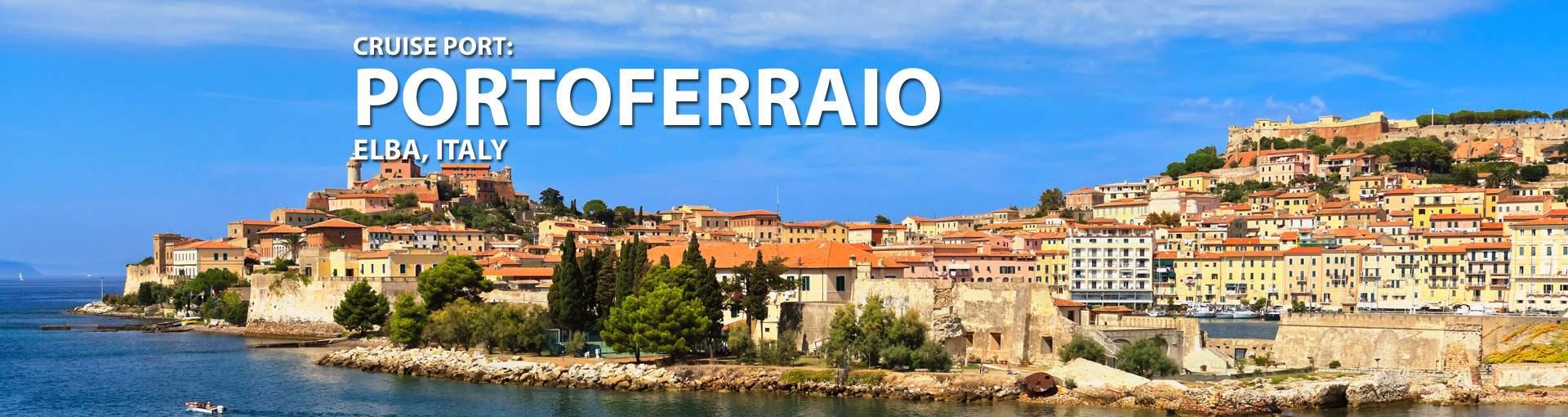 Cruises to Portoferraio (Elba), Italy