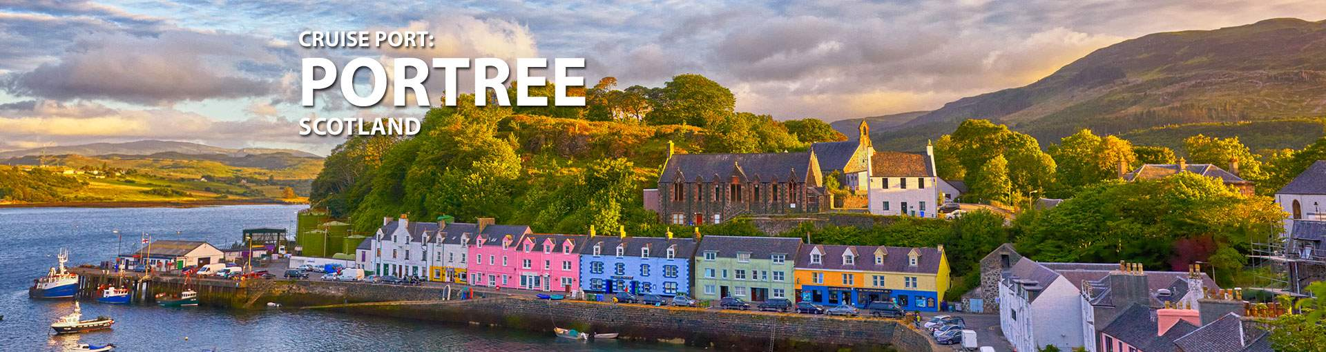 Cruises to Portree, Scotland