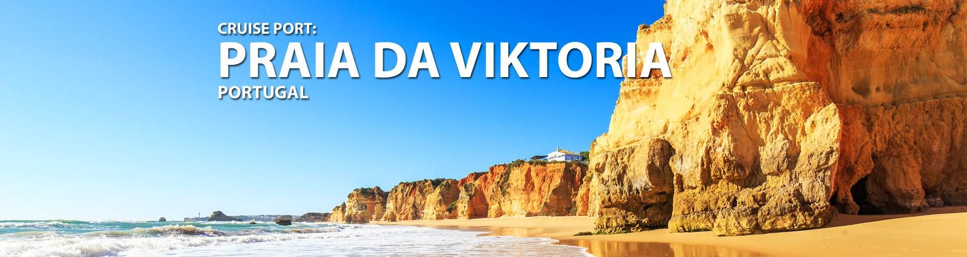 Cruises to Praia da Viktoria, Portugal