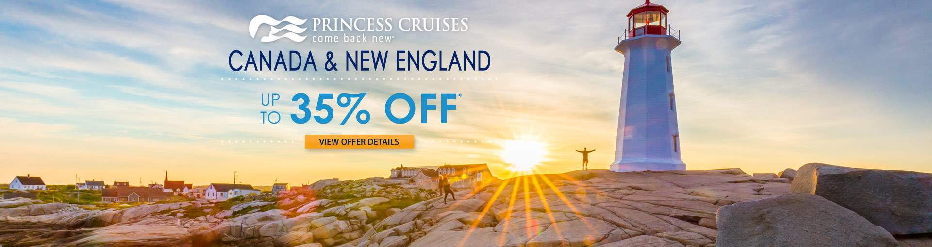 Princess Cruises to Canada: up to 35% Off