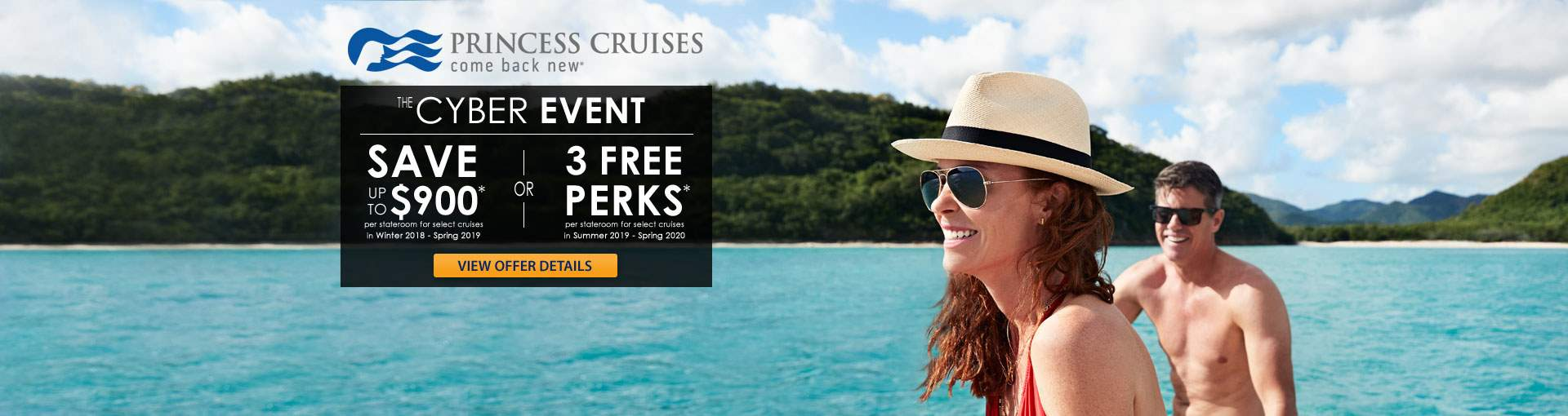Princess Cruises Cyber Event Cruise Sale
