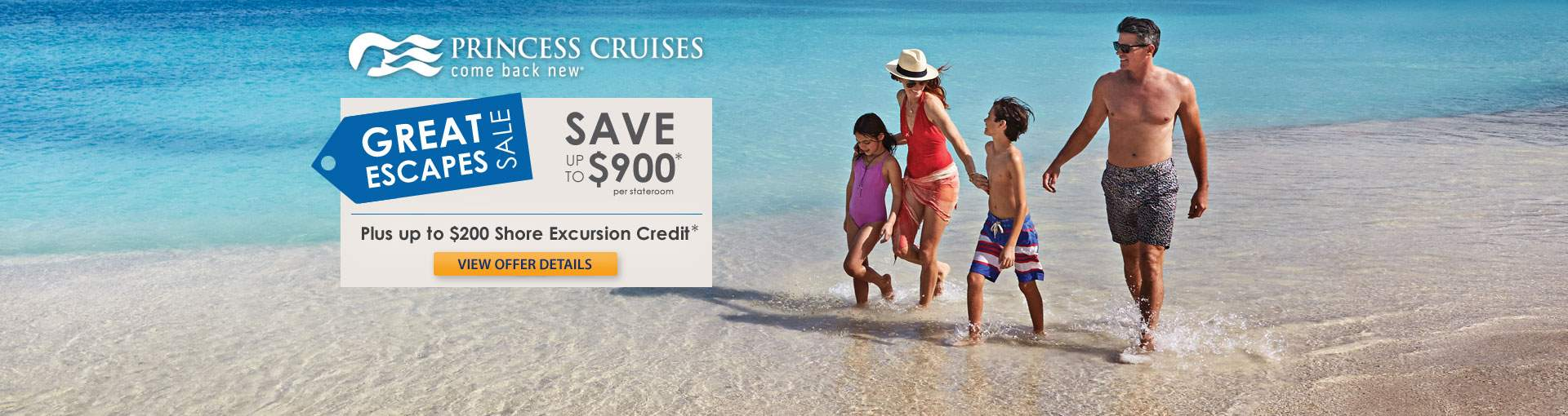 Princess Cruises Great Escapes Cruise Sale
