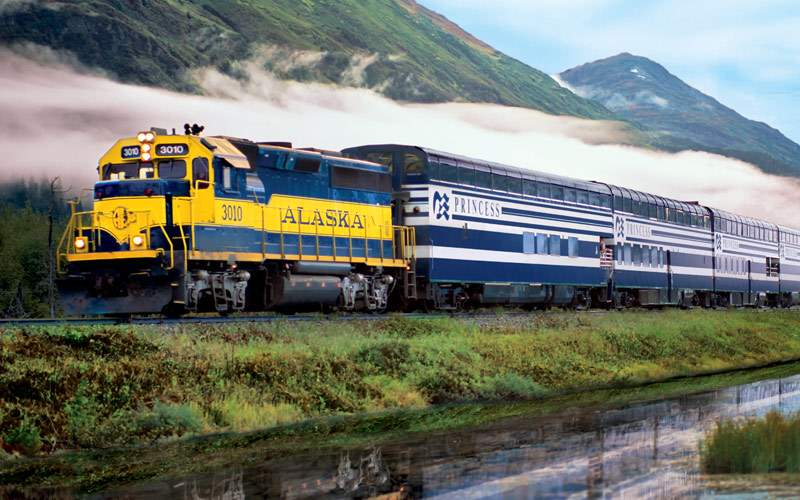 Princess Alaska Cruisetour Wilderness Train