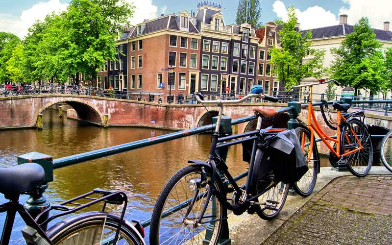 Amsterdam canal Princess Cruises Northern Europe