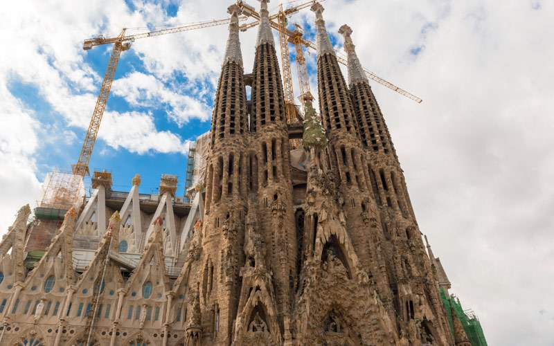 La Sagrada Familia in Barcelona Princess Europe