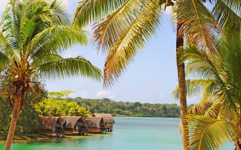 Bay on Efate Island Vanuatu Princess South Pacific