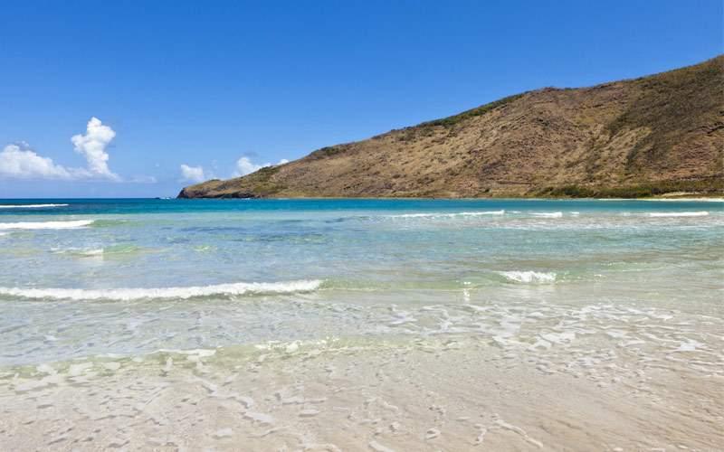 Caribbean Beach in St. Kitts Princess Cruises