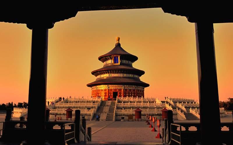 Tiananmen Square in China