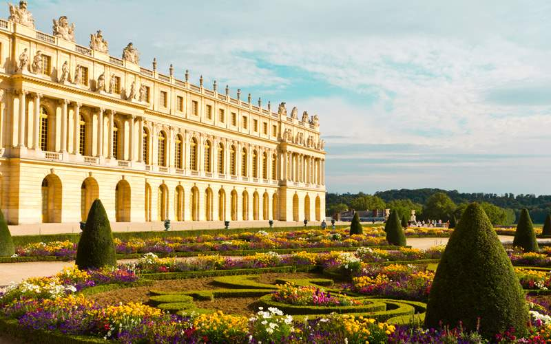 A palace in Versailles, France