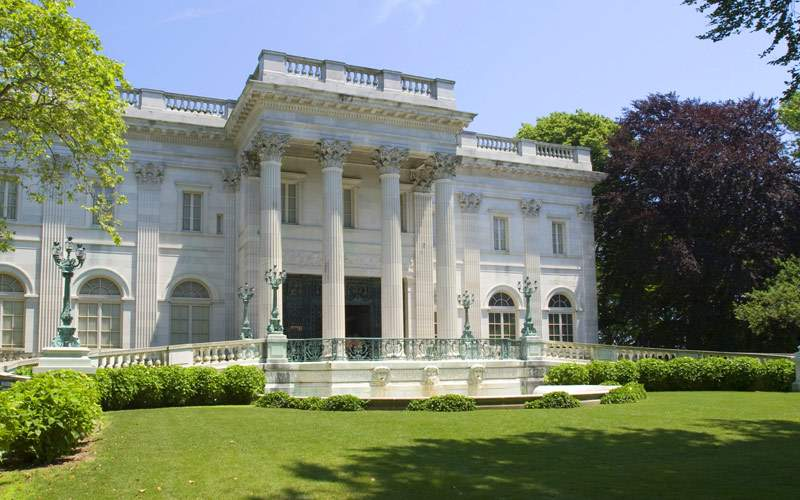 Vanderbilt Marble House in Newport Princess Cruise