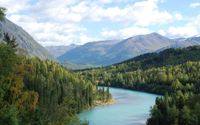 Kenai River in Alaska