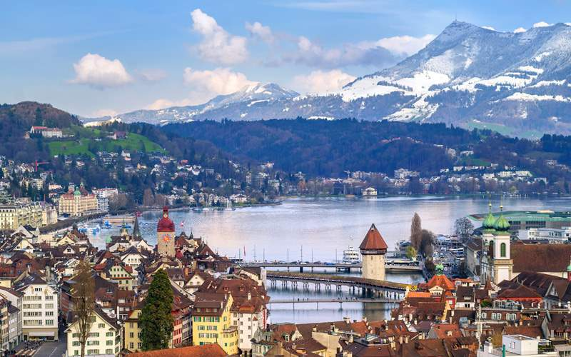 Princess Europe cruisetours Luzern, Switzerland