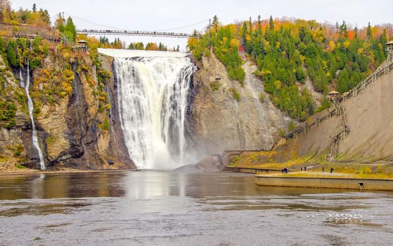 Princess Canada Cruisetour Montmorency Falls Park