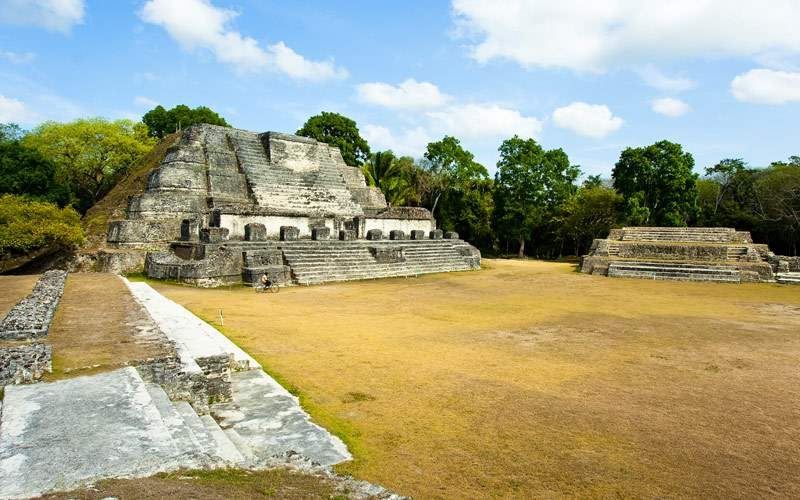 Altun Ha Mayan Temple in Belize Princess Caribbean