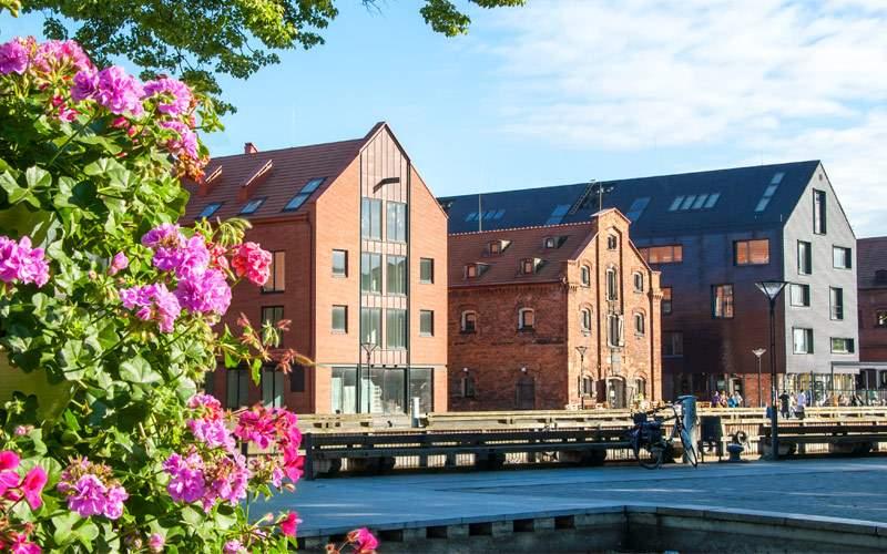 Old town of Klaipeda, Lithuania Princess Europe