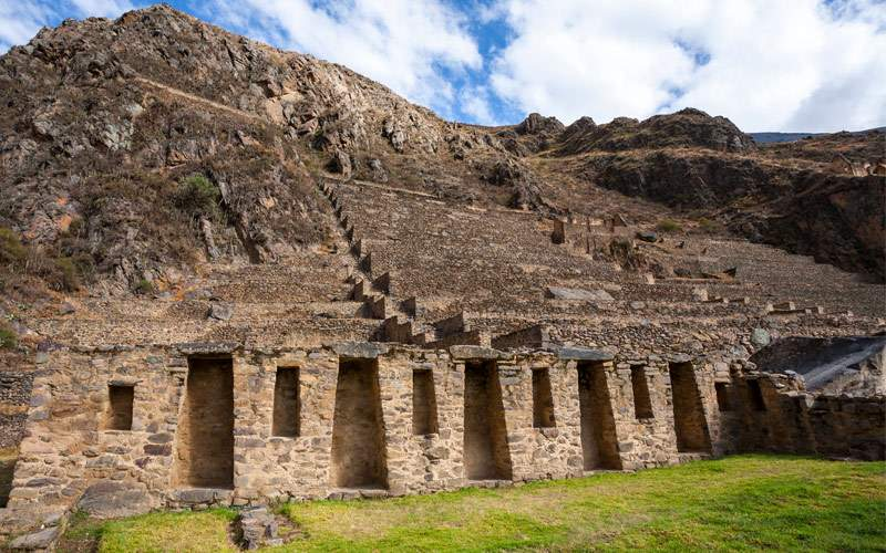 Ollantaytambo ruins Peru Princess South America