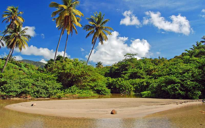 La Sagesse beach on Grenada Princess Caribbean