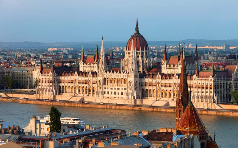 Princess Europe Cruisetours Budapest, Hungary