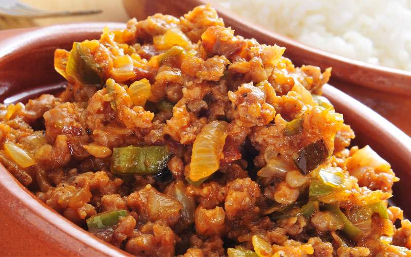 Eastern Caribean Picadillo dish Princess Cruises