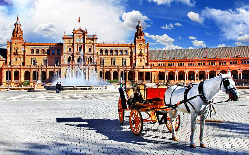 Plaza de Espana, Sevilla, Spain Princess Europe