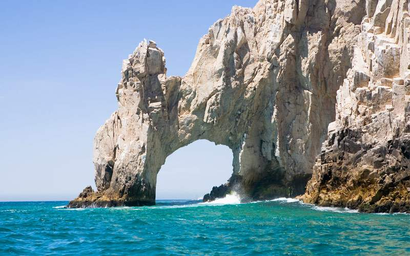 Baja peninsula near Cabo San Lucas Mexico Princess