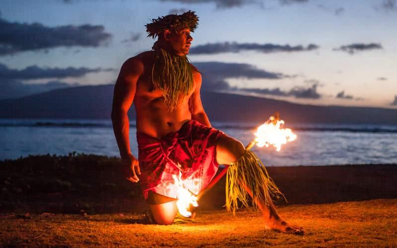 Samoan Dancer in Maui Princess Cruises Hawaii