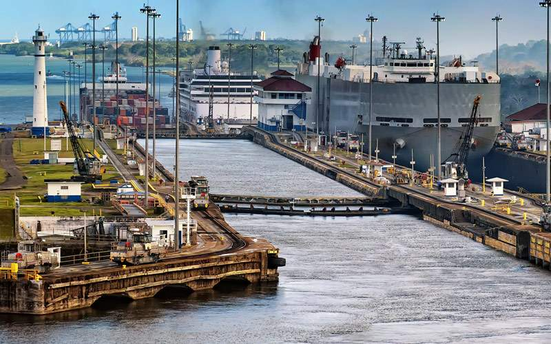 Locks of the Panama Canal Princess Cruises