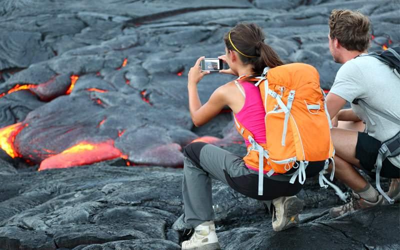 Hawaii volcanoes national park Princess Cruises