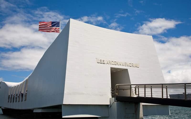 USS Arizona Memorial Pearl Harbor Hawaii Princess