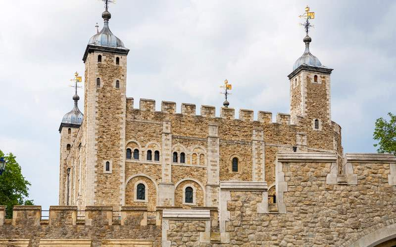 Tower of London England Princess Northern Europe