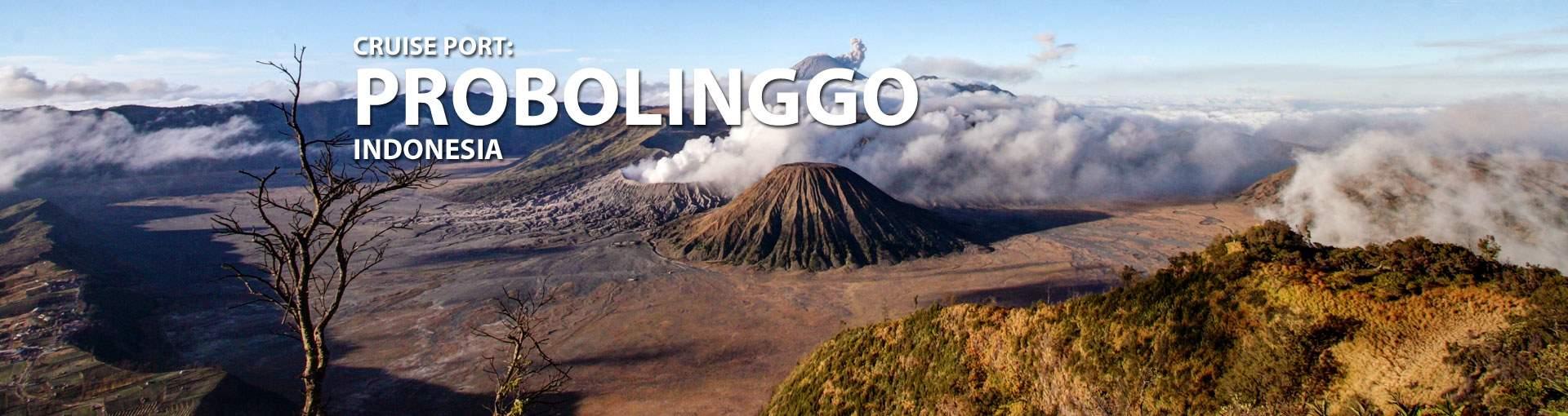 Cruises to Probolinggo, Indonesia