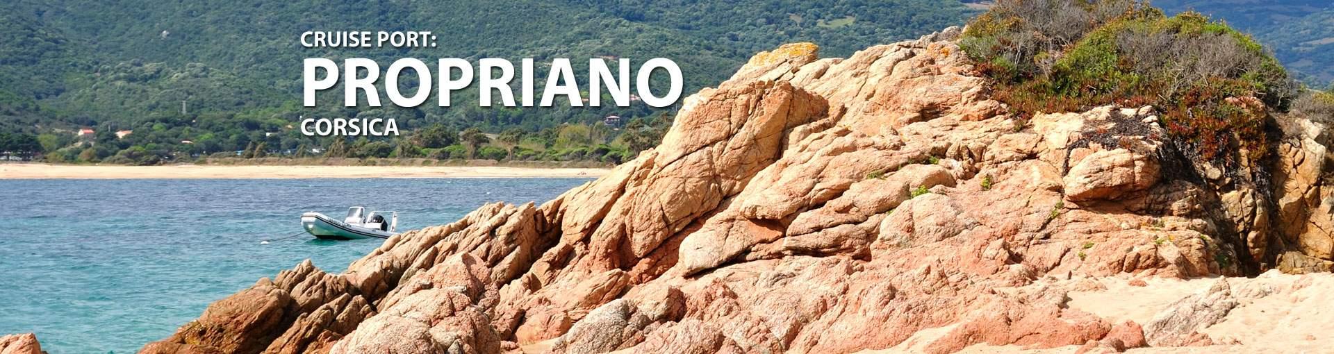 Cruises to Propriano, Corsica
