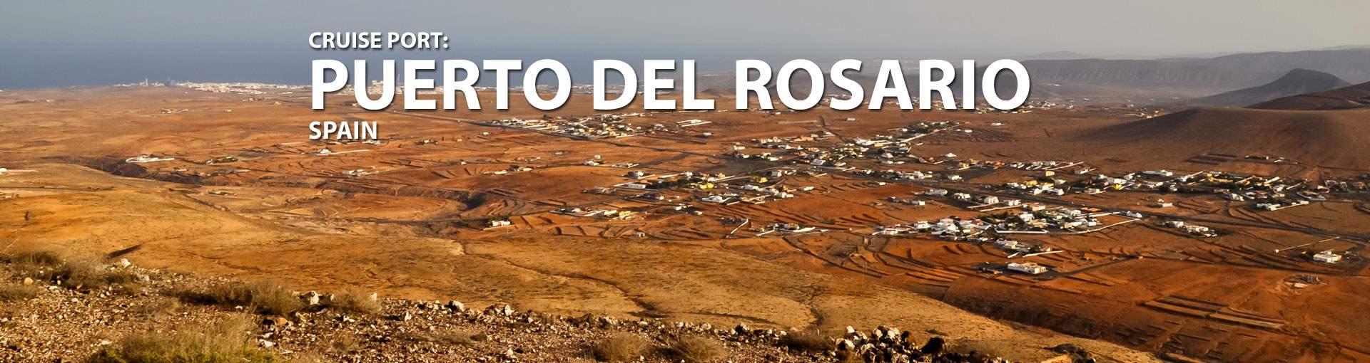 Cruises to Puerto Del Rosario, Spain