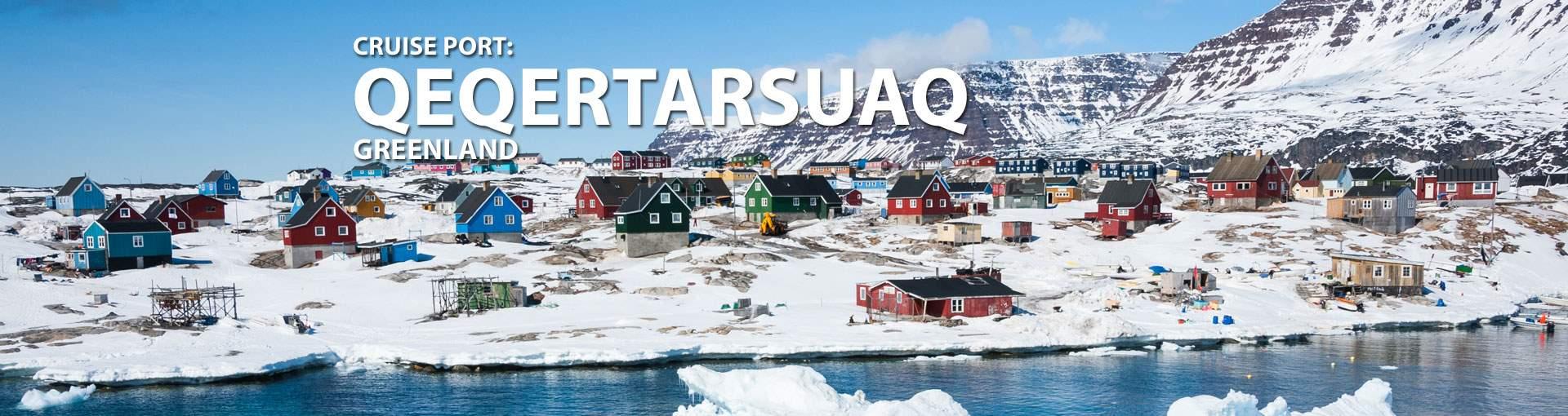 Cruises to Qeqertarsuaq, Greenland