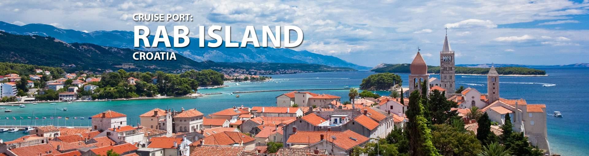 Cruises to Rab Island, Croatia