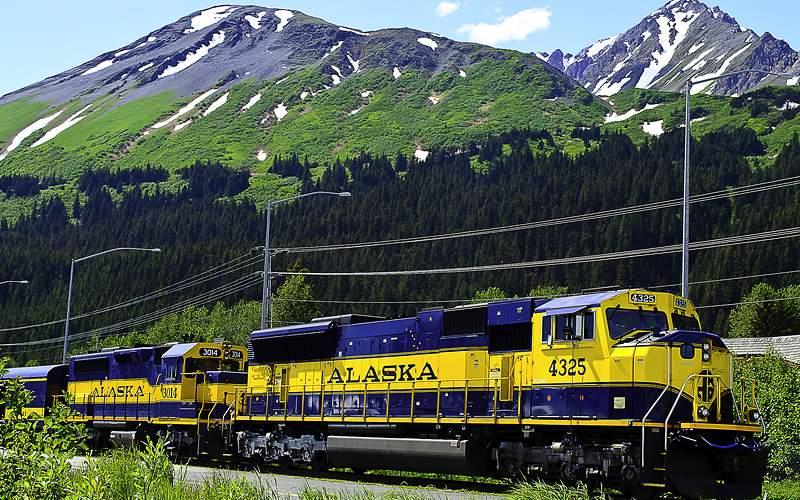 Scenic Alaskan Railway