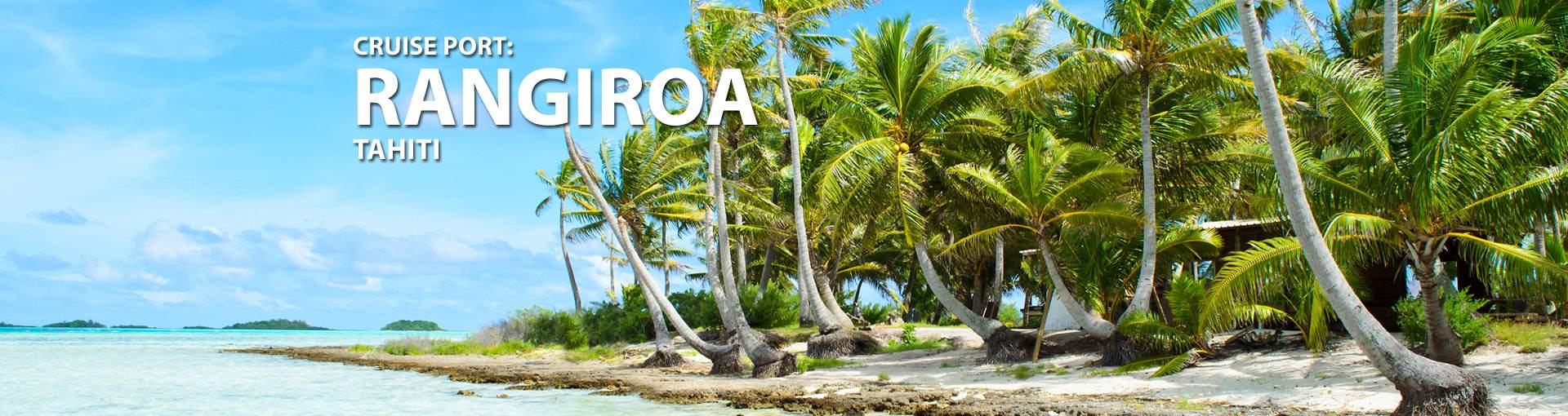 Cruises to Rangiroa, Tahiti
