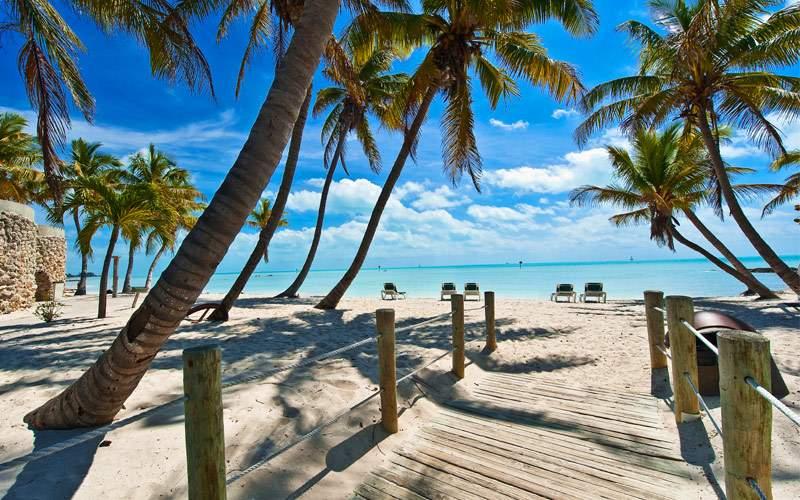 Beach Key West Florida Regent Seven Seas Caribbean