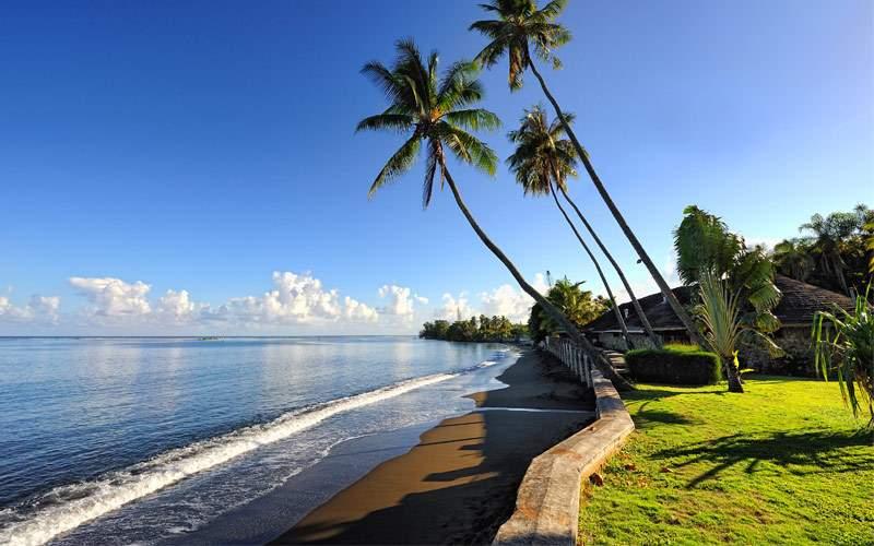 beach Papeete Tahiti Regent Seven Seas Cruises