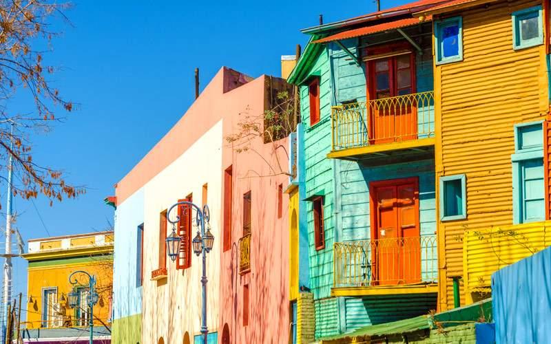 La Boca Buenos Aires South America Regent Cruise