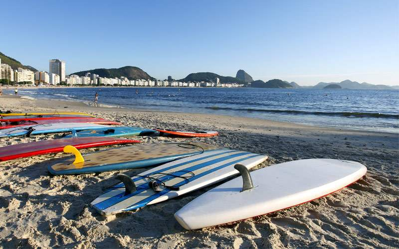 Copacabana Beach, Rio de Janeiro Regent Seven Seas