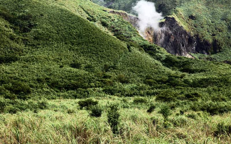 Crater in Taipei, Taiwan Regent Seven Seas Asia