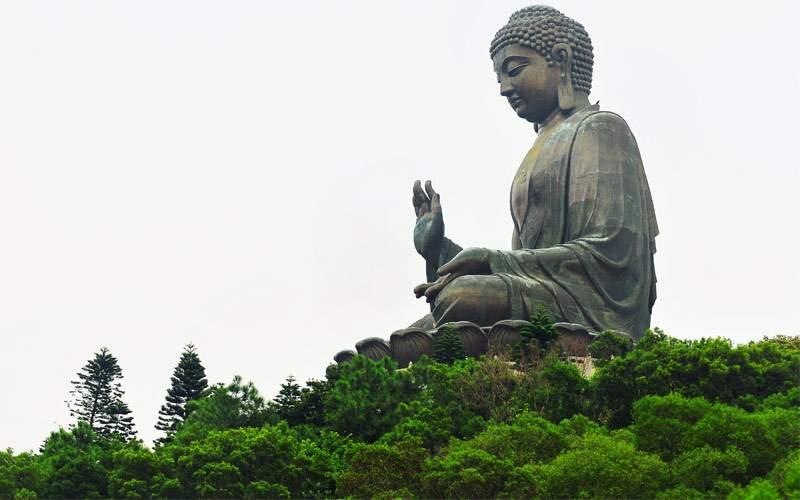 Giant Buddha in Hong Kong Regent Seven Seas Asia