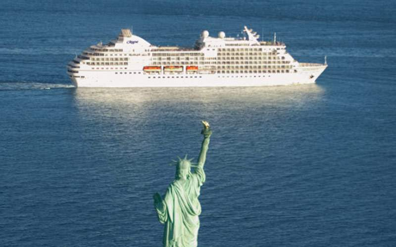 Statue of Liberty Regent Seven Seas Cruises Canada