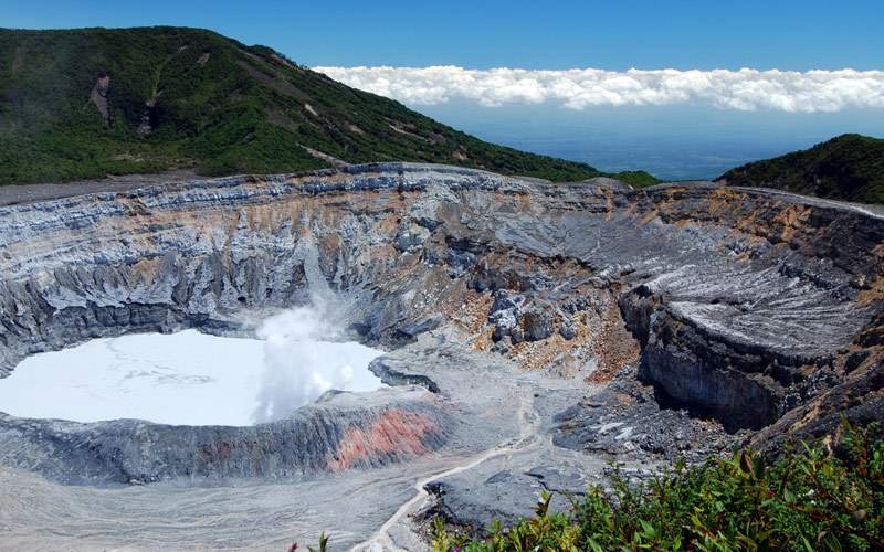 Volcano Costa Rica Regent Seven Seas Panama Canal