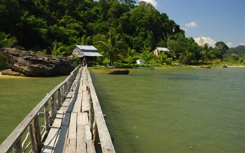 Ream national park Cambodia Regent Seven Seas Asia