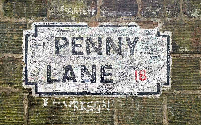 Penny Lane Street Regent Seven Seas Europe Cruise