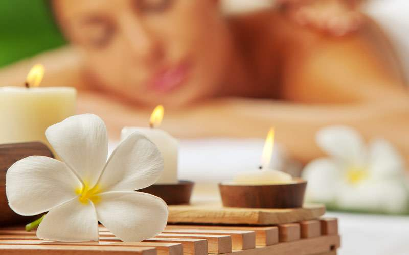 Relax at the cruise ship spa