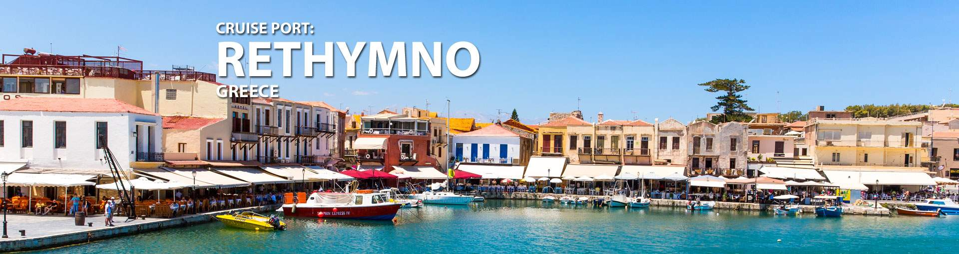 Cruises to Rethymno, Greece